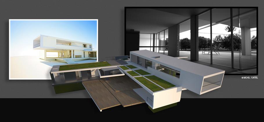 rendu d'architecture 3D